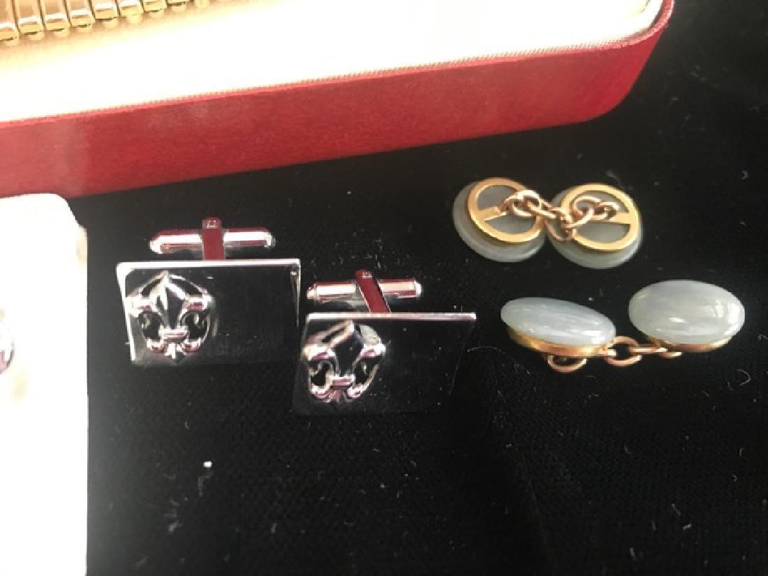Gentleman's Cufflink & Dresser Lot - 4