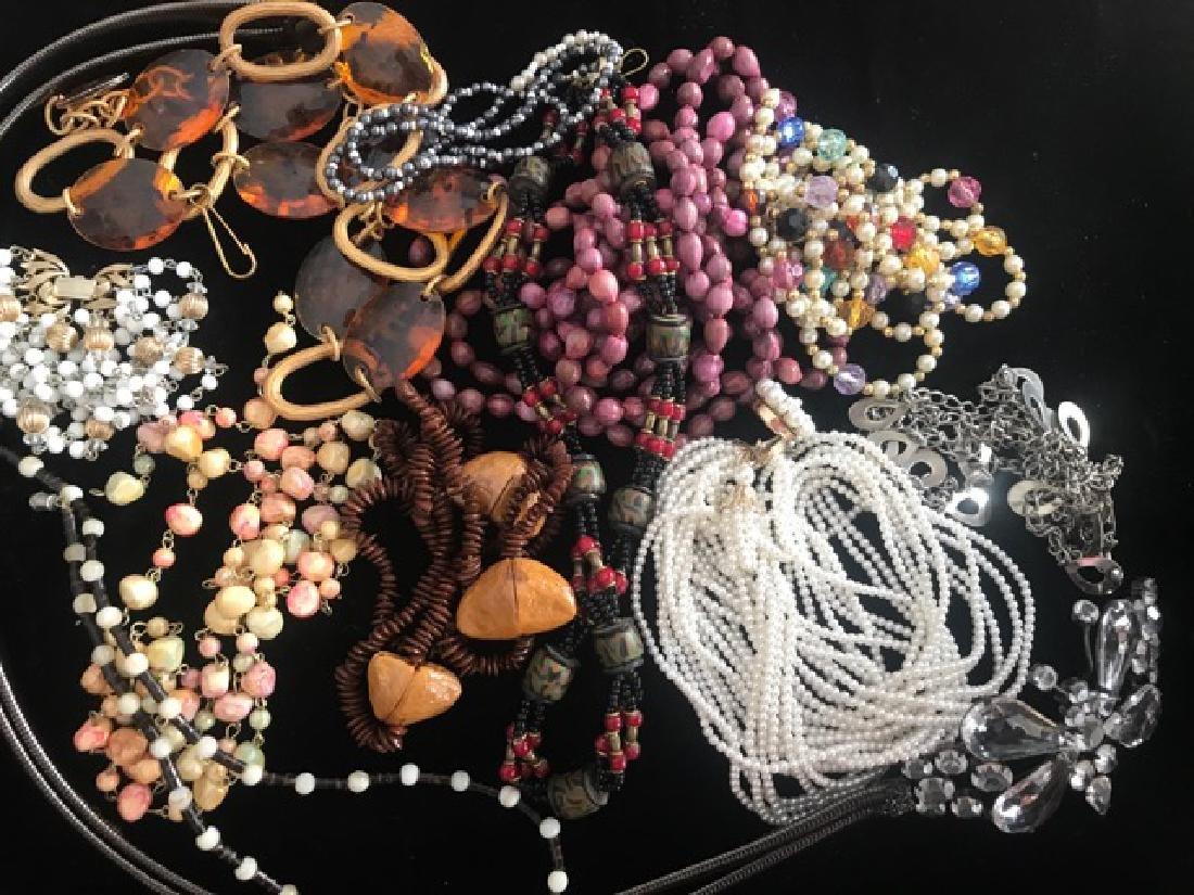 1960's Bead Necklace & Belt Lot