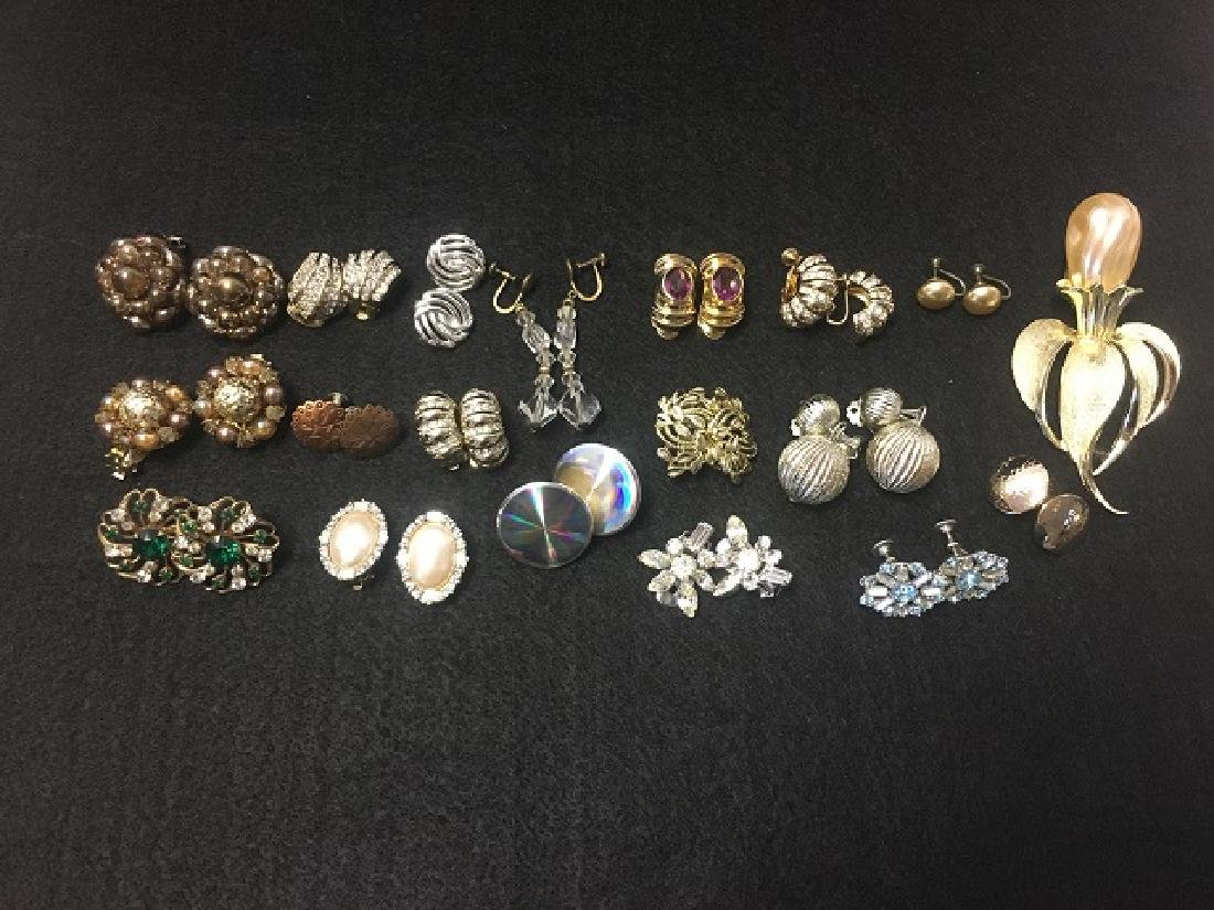 Estate Earring Lot