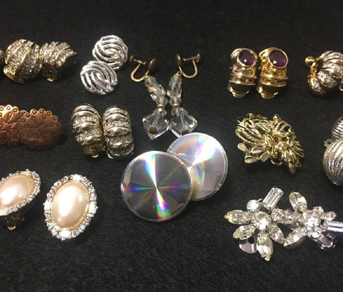 Estate Earring Lot - 4