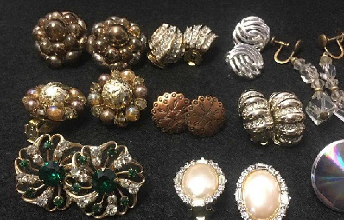 Estate Earring Lot - 5