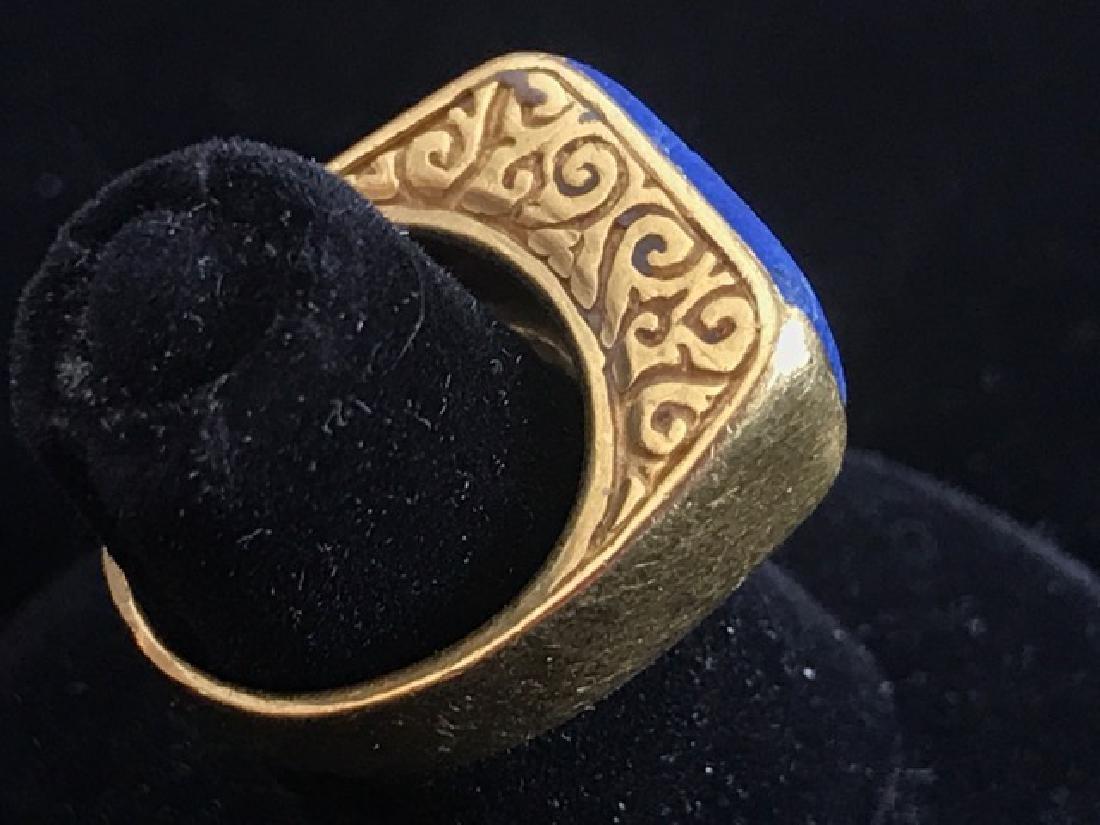 Luna Felix Designer 22K Gold Ring