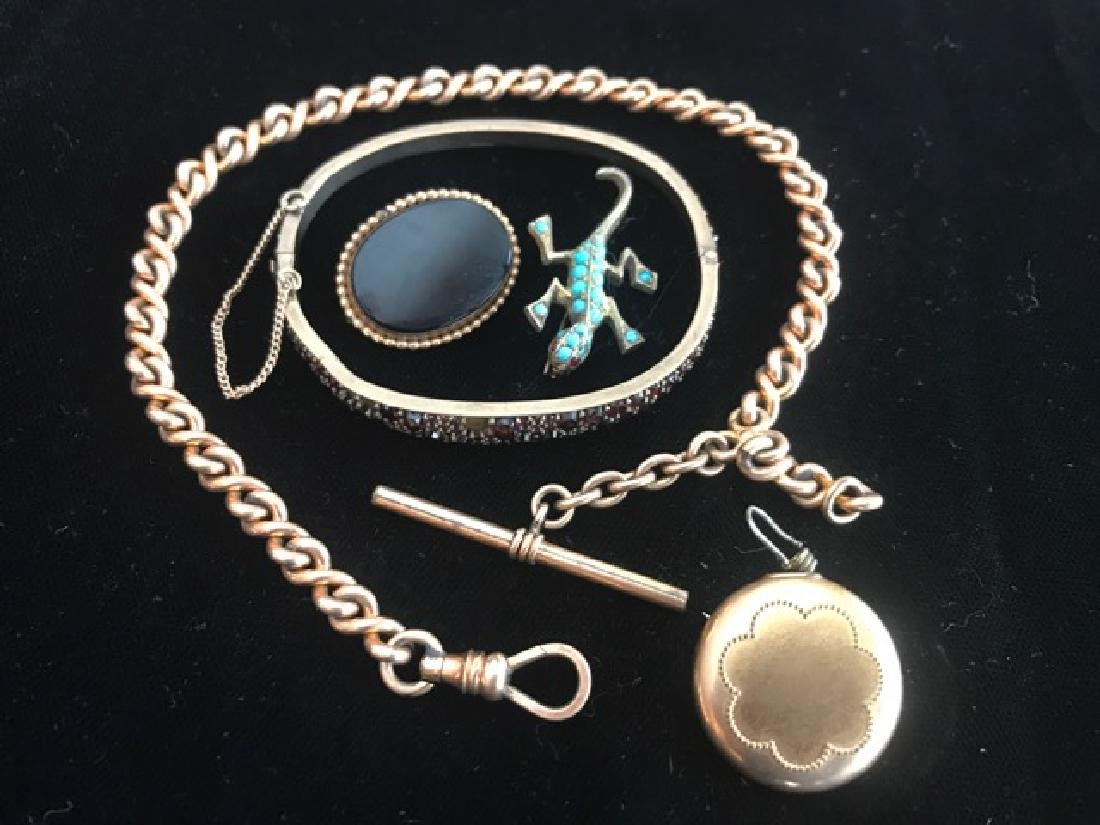 Vintage Jewelry Lot - Watch Fob