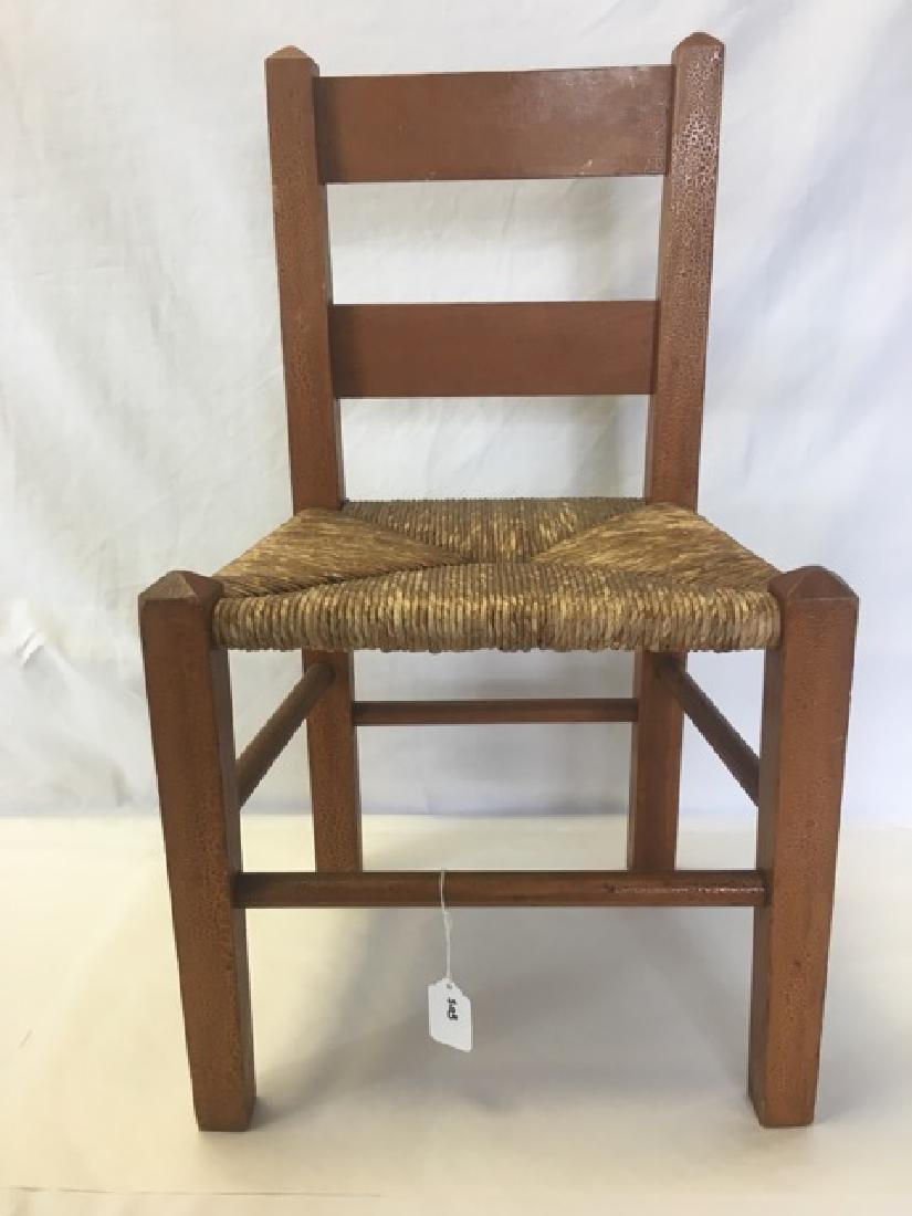 Childs Rush Seat Chair