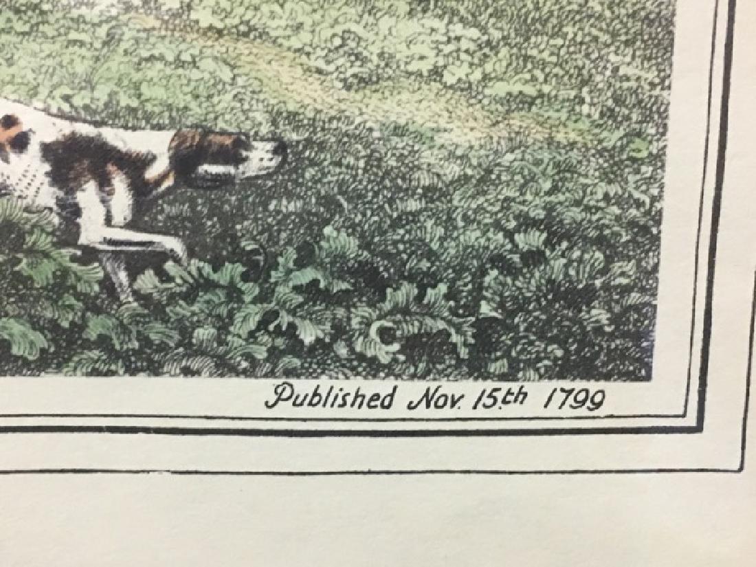 Hunting Print - Partridge Shooting by Howitt - 3