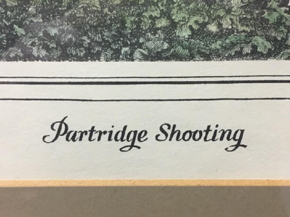 Hunting Print - Partridge Shooting by Howitt - 5