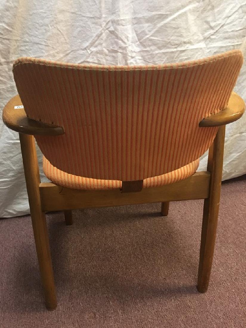 Mid-Century Wooden Arm Chair - 3