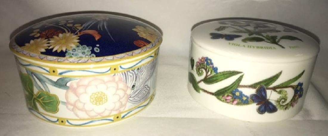 Portmerion and Spode Covered Boxes - 2
