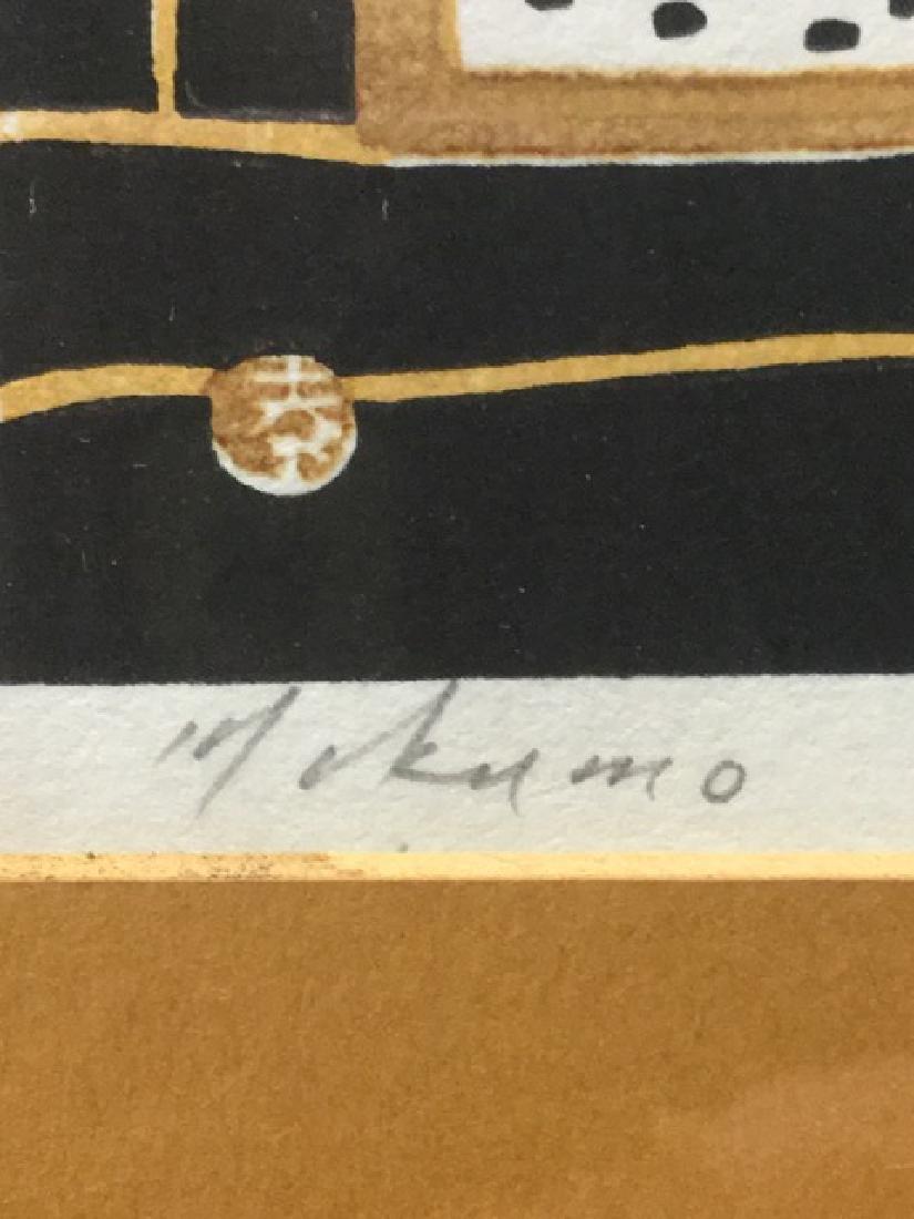 Japanese Woodblock Signed Mikumo - 3