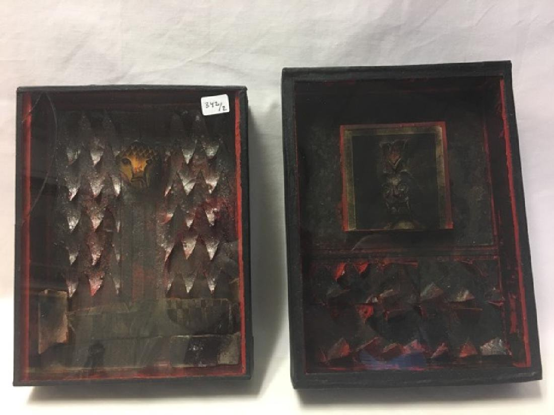 Mexican Death Shadow Boxes