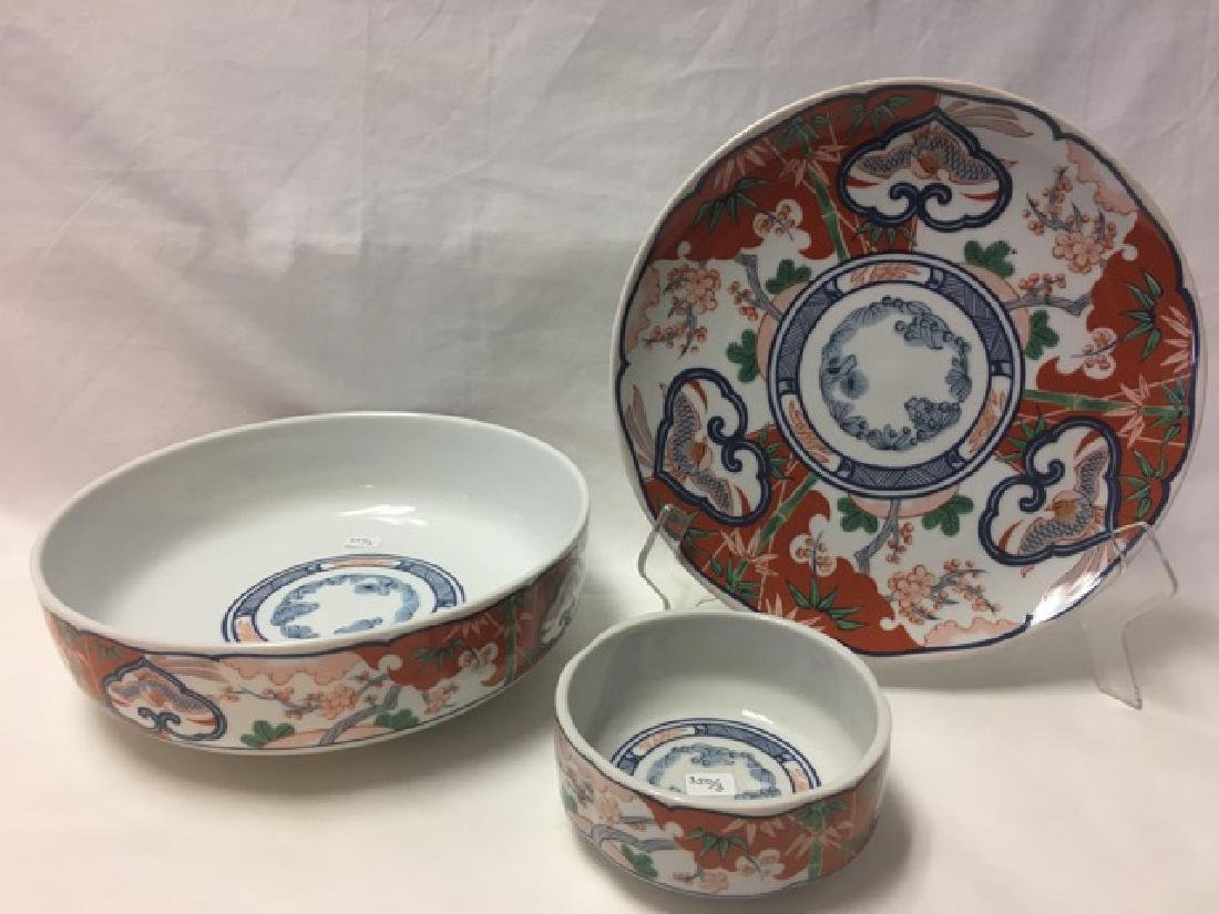 3 Piece Porcelain Set Heirloom by Georges Briard