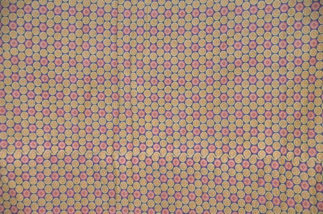 Yarn Tied Blue Quilt - 5
