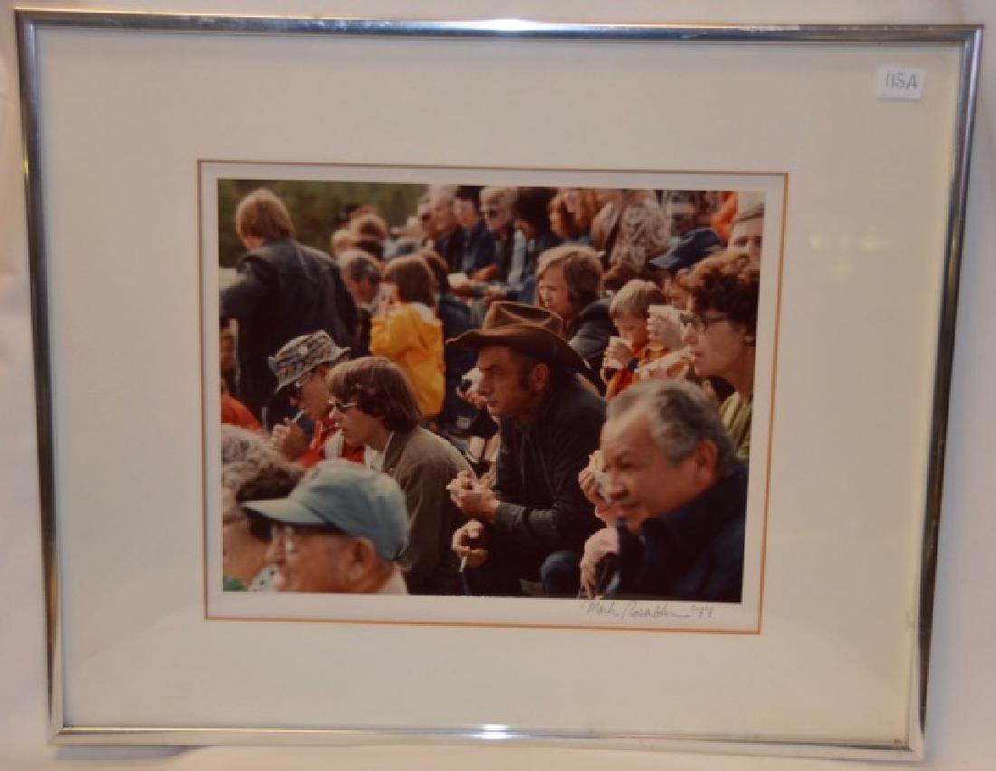"Photograph, ""Calgary Stampede 1977"" Sgd.  Rosenblum, M."