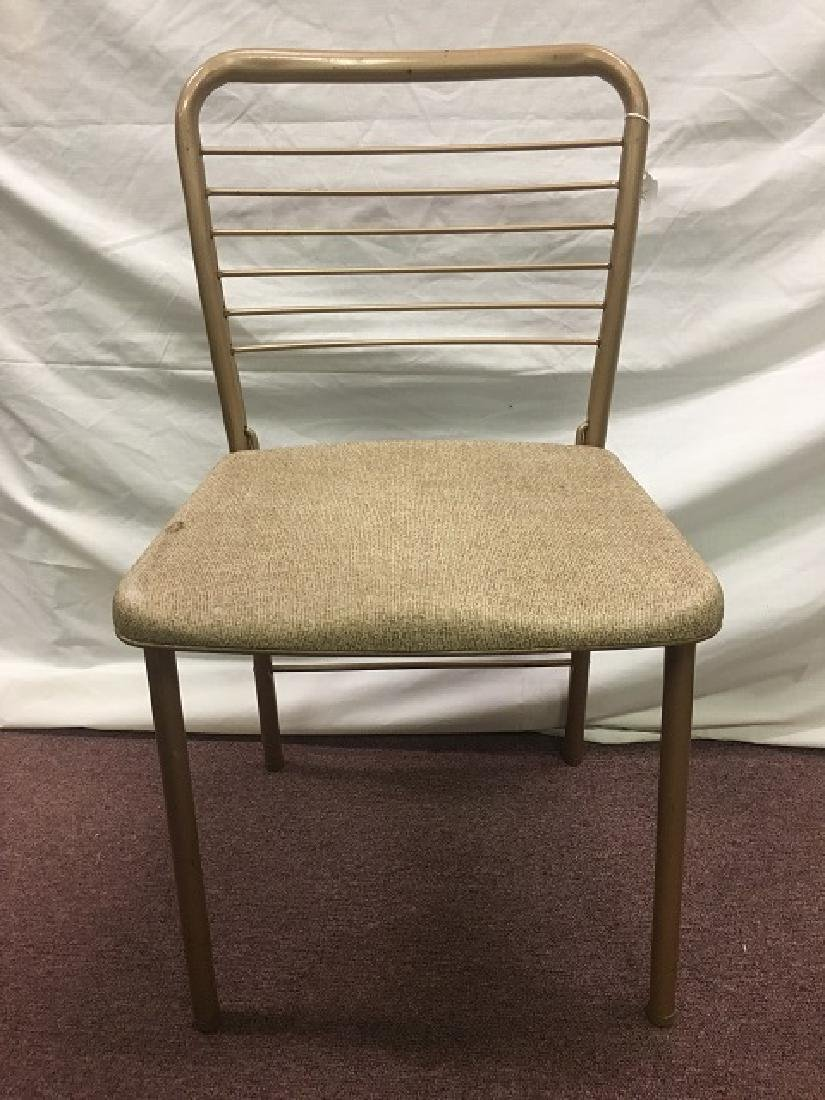 Set 1950s Steel Folding Chairs (6)