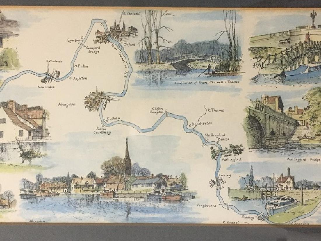 River Thames Lithograph by Montague Webb - 4