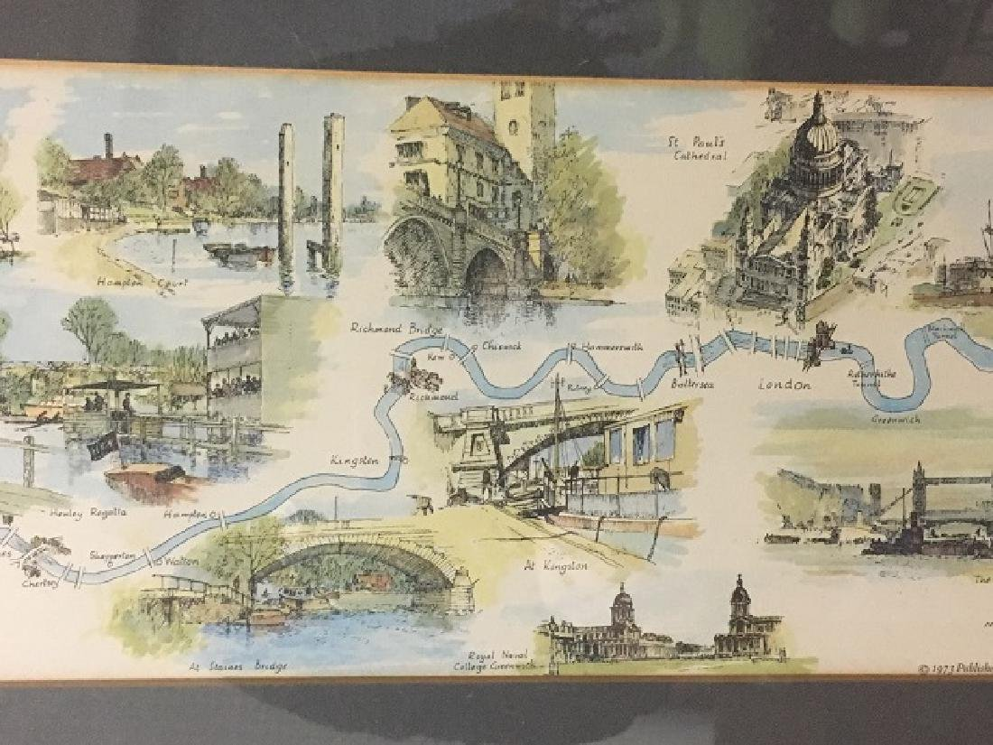 River Thames Lithograph by Montague Webb - 6