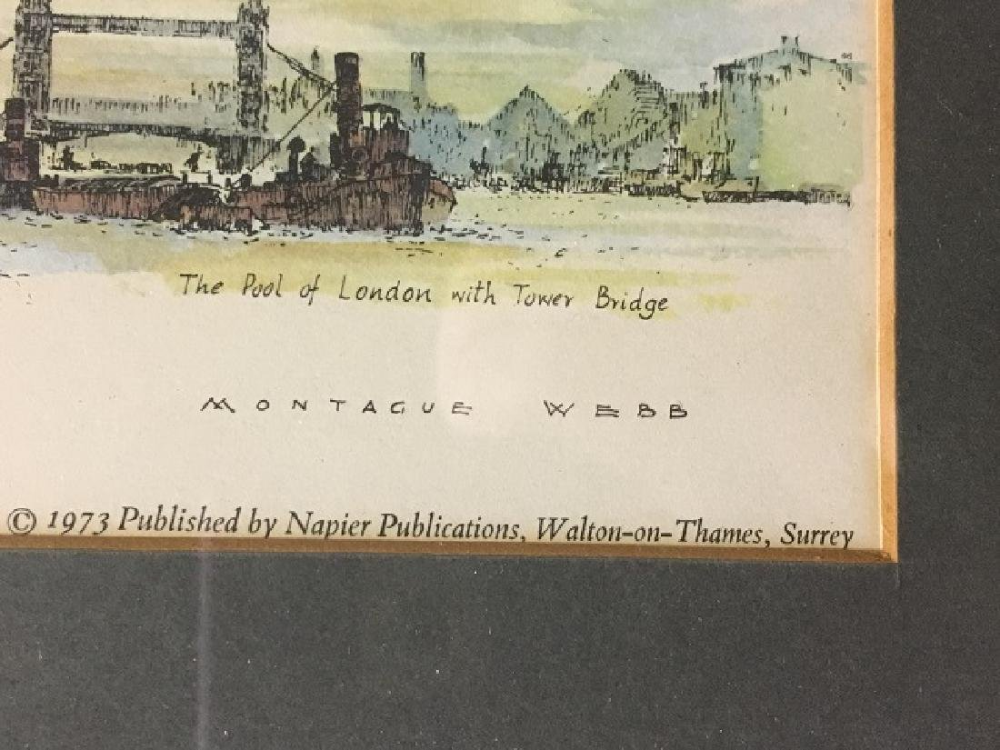 River Thames Lithograph by Montague Webb - 8