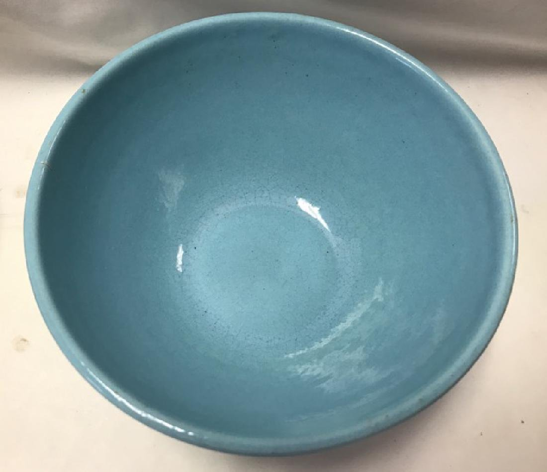 Two Mixing Bowls - Pottery and Pyrex - 3