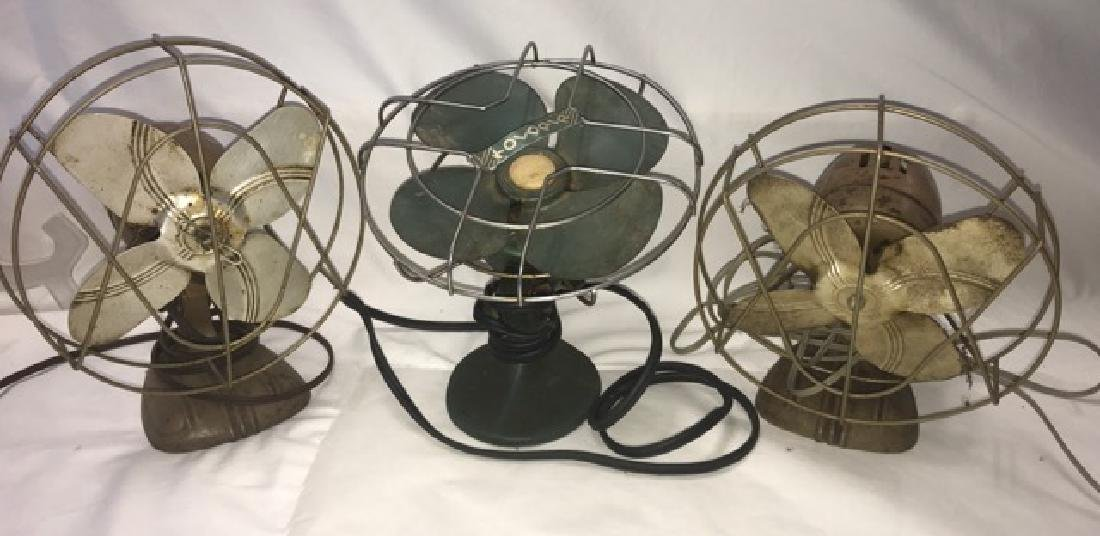 Three Vintage Fans - Koldair