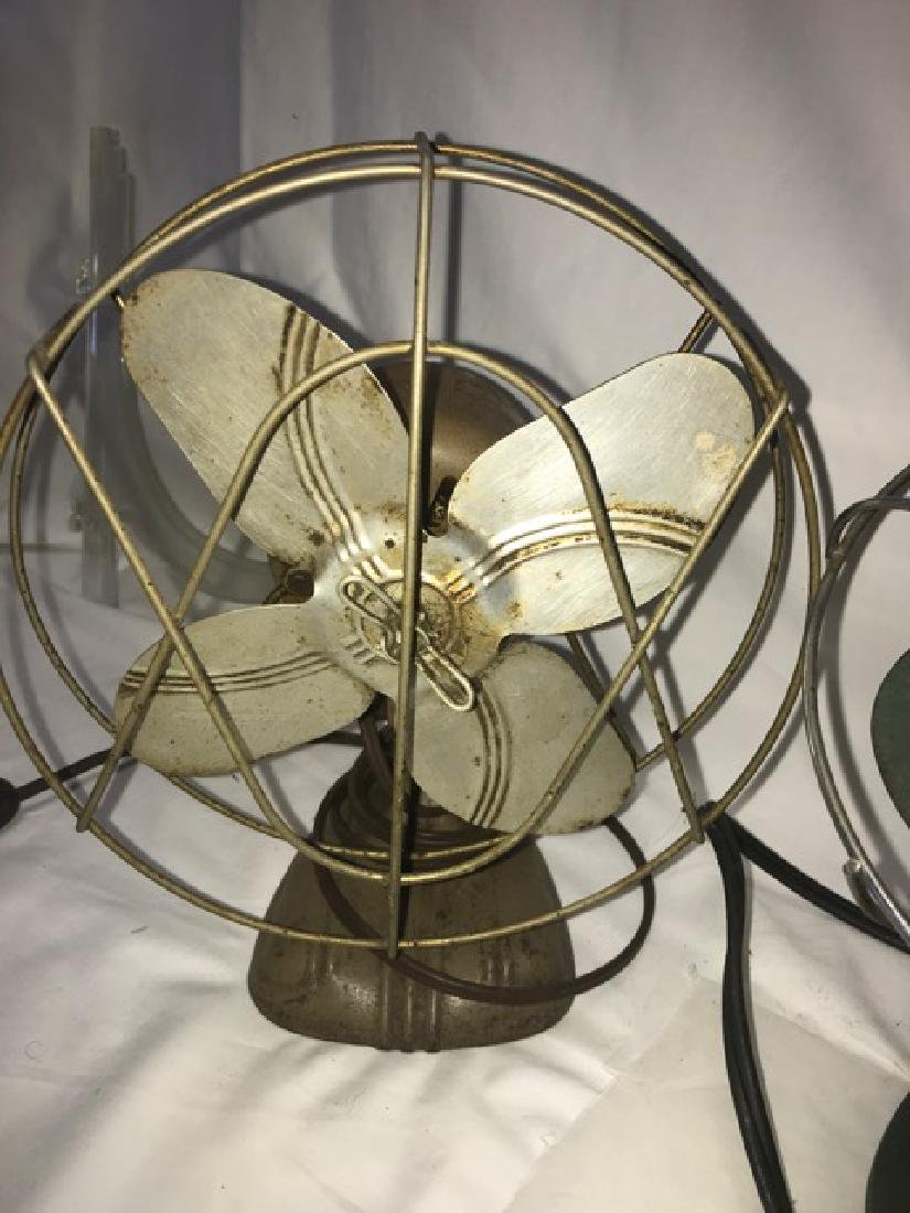 Three Vintage Fans - Koldair - 2