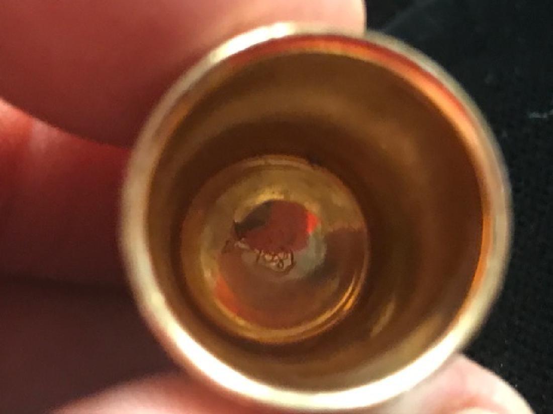 10K Gold Thimble - 3