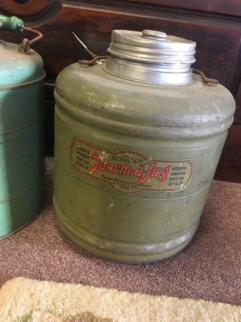 Lot of Three Vintage Gallon Insulated Jugs - 2
