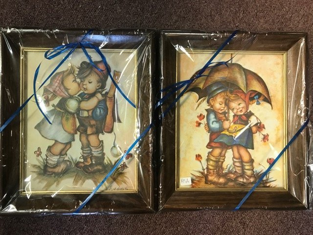 Two Hummel Lithographs