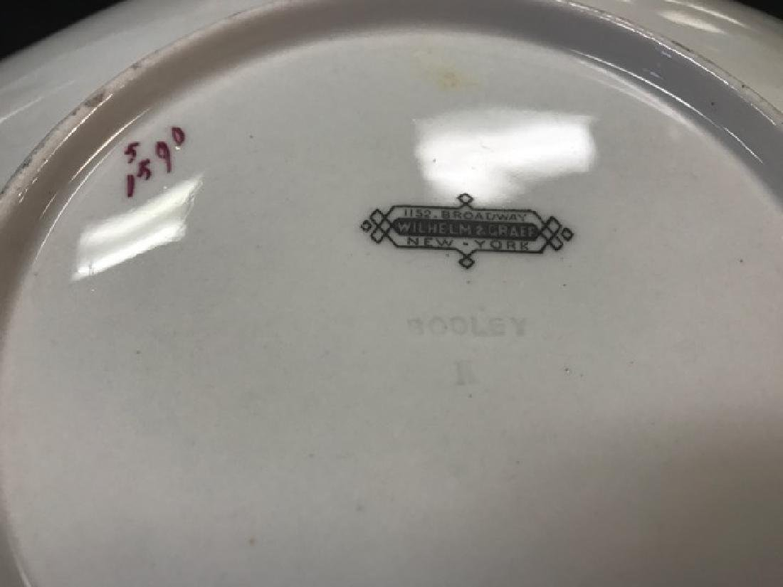 Six Bodley Hexagonal Fish Plates - 5