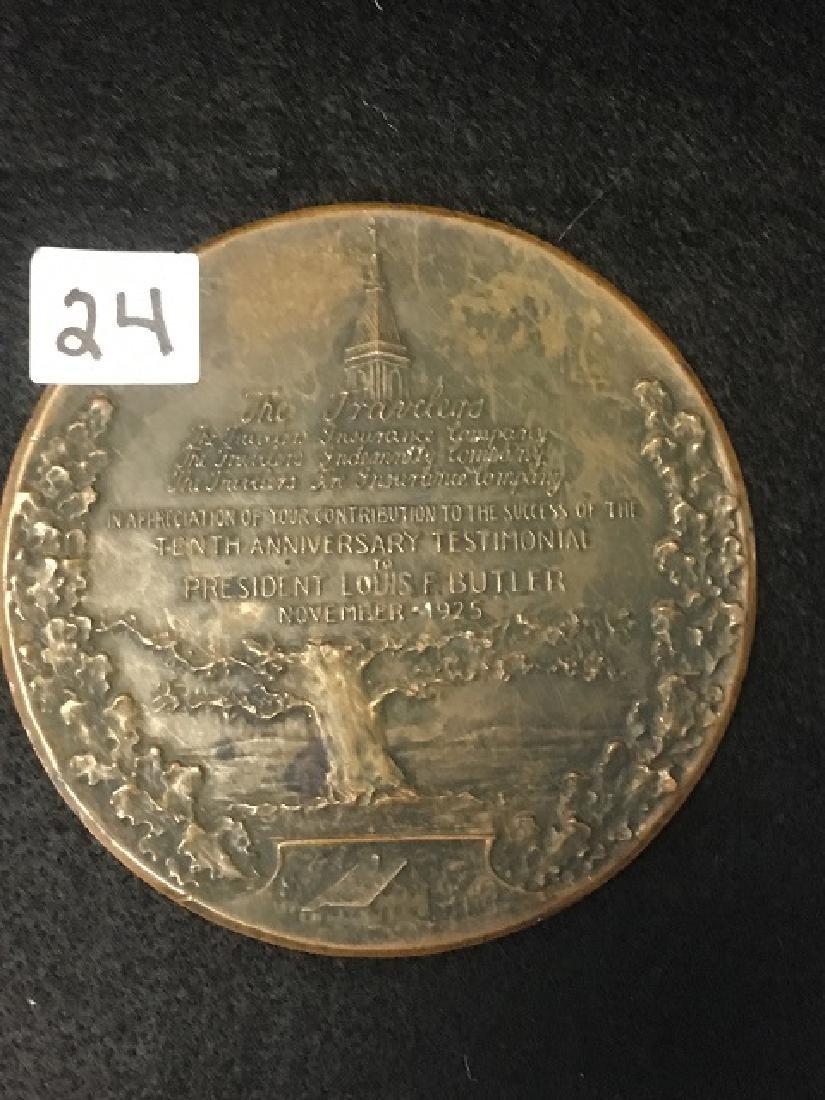 Travelers Insurance Anniversary Coin