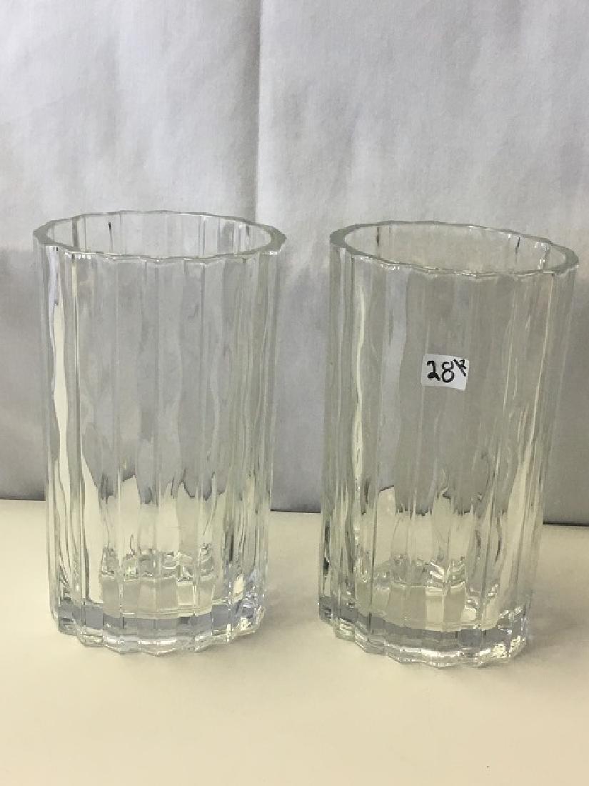 Pair of Waterford Marquis Vases