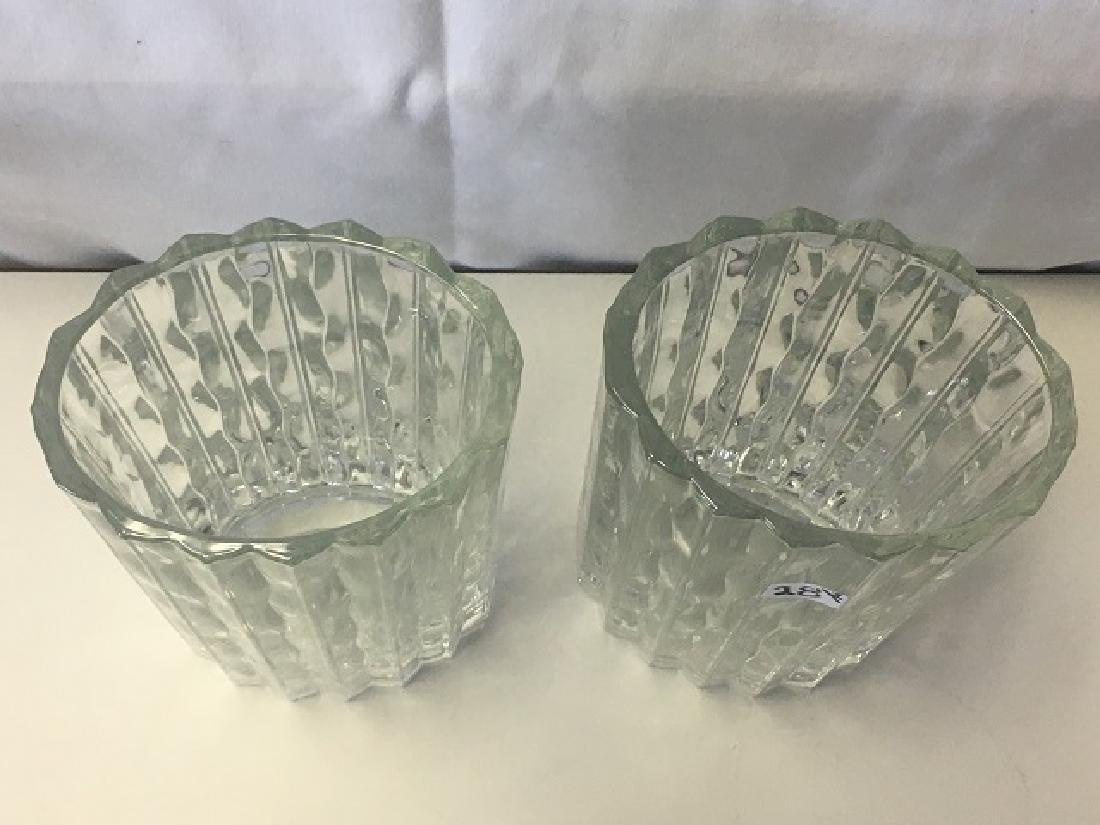 Pair of Waterford Marquis Vases - 2