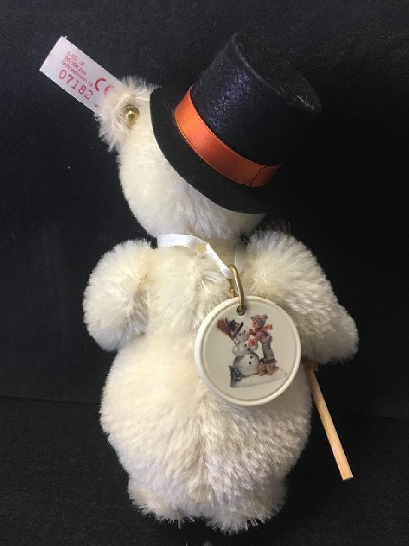 Steiff Snowman with Hat and Broom - 3