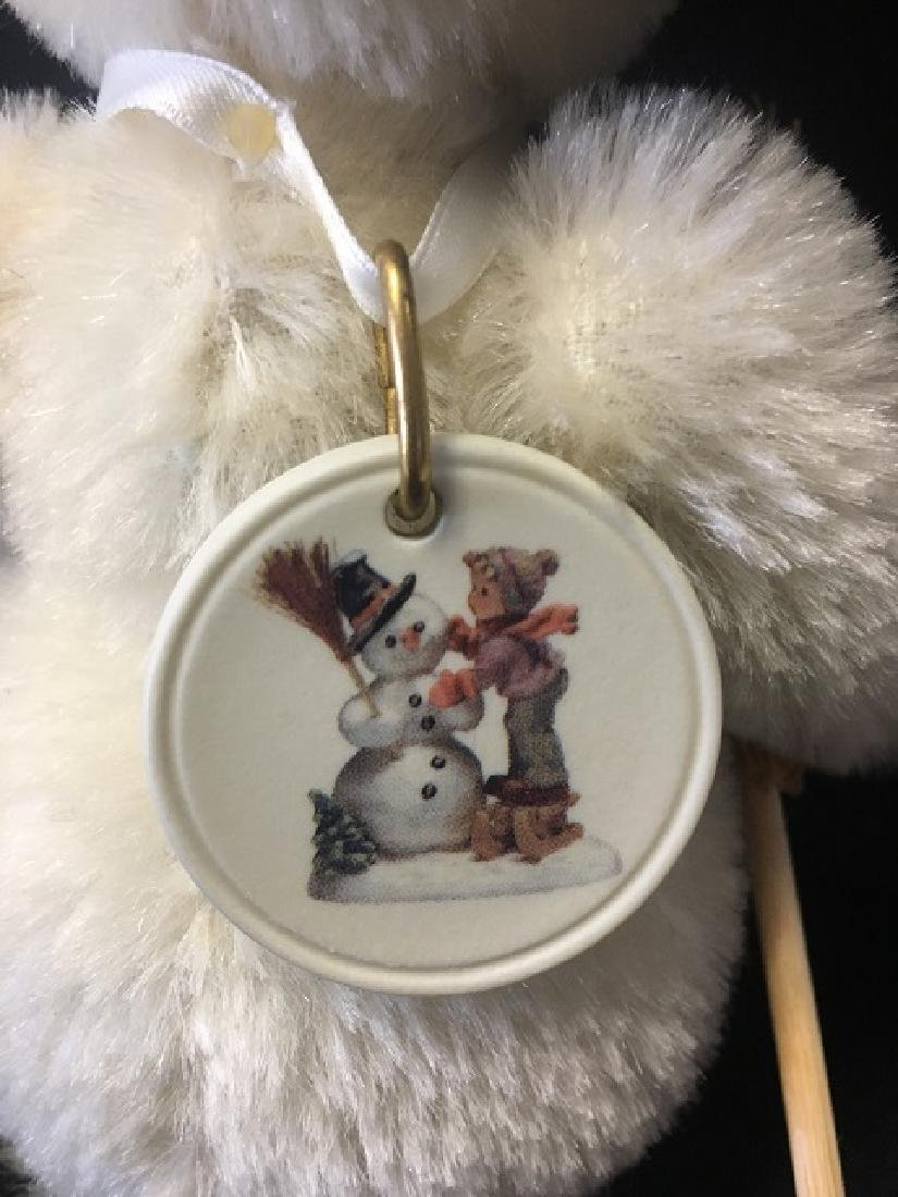Steiff Snowman with Hat and Broom - 4