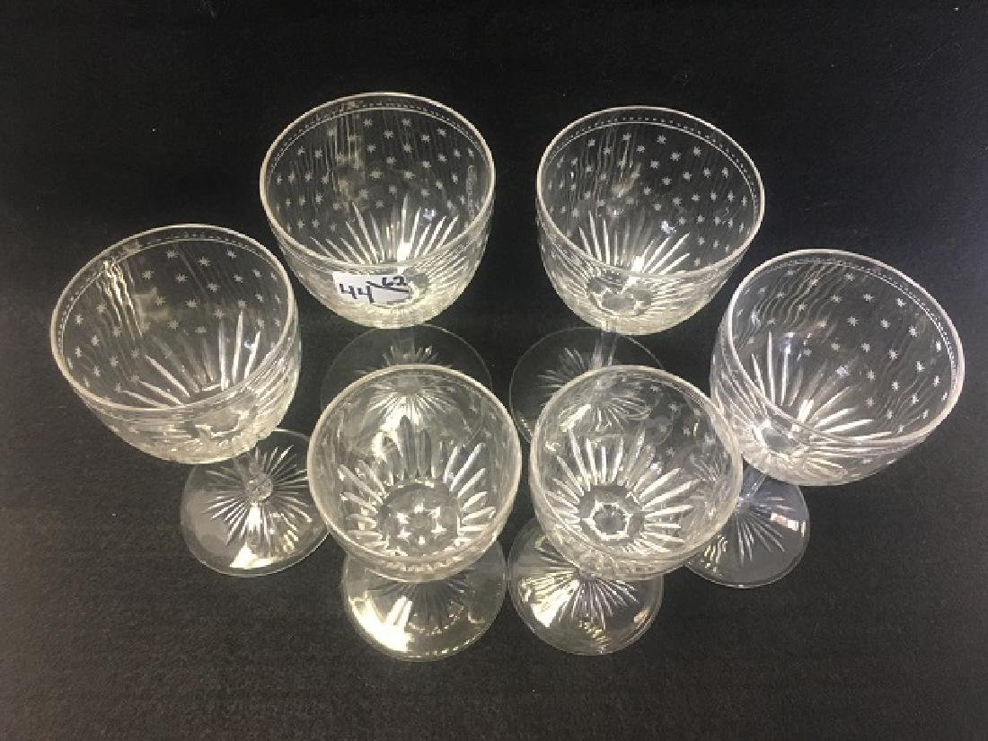 Large Lot of Crystal Stemware (44) - 2