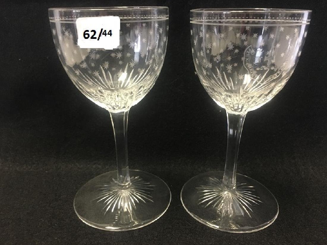 Large Lot of Crystal Stemware (44) - 3