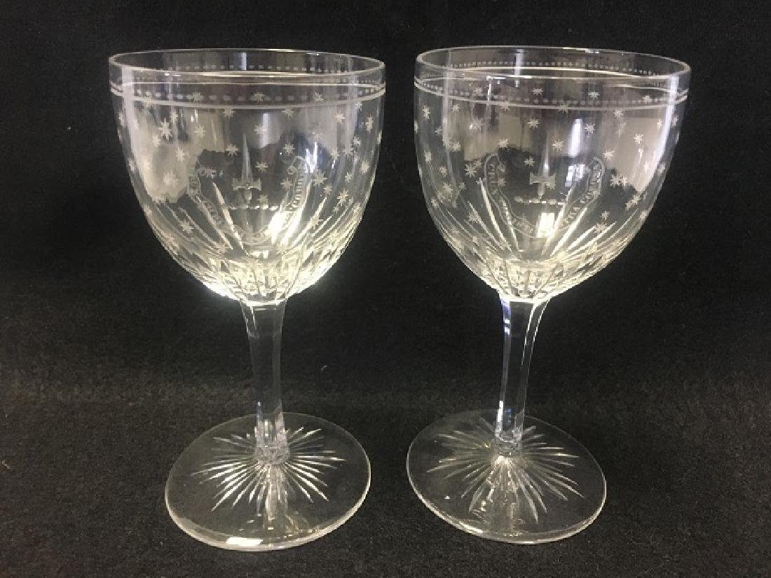 Large Lot of Crystal Stemware (44) - 4