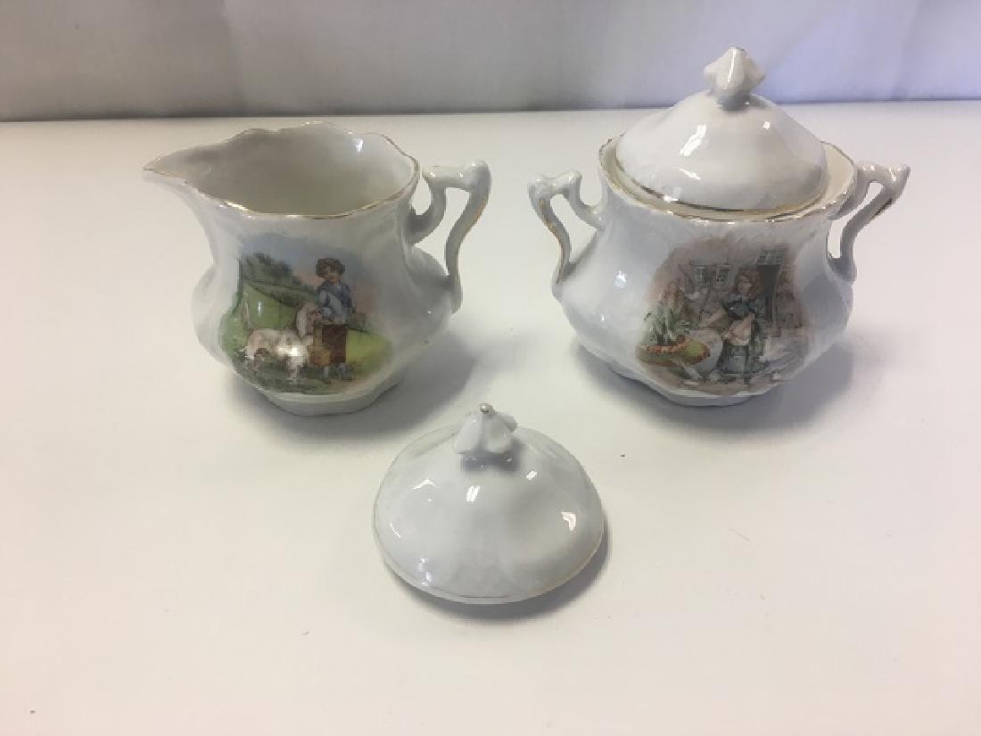 Victorian Child's Tea Set - 10