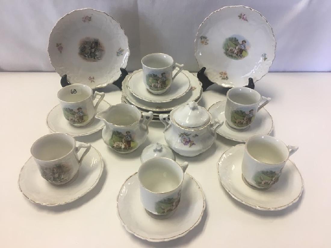 Victorian Child's Tea Set