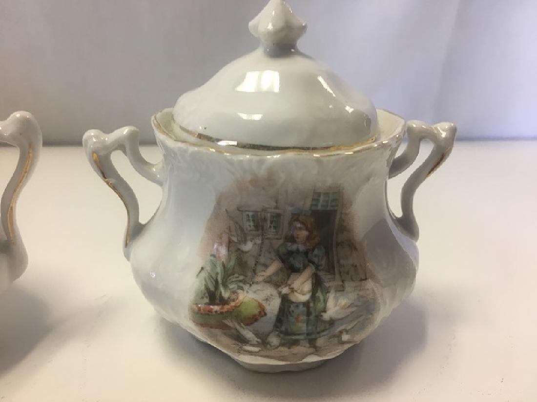 Victorian Child's Tea Set - 2