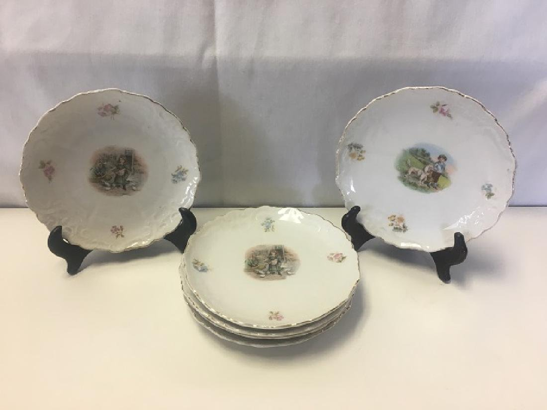 Victorian Child's Tea Set - 4