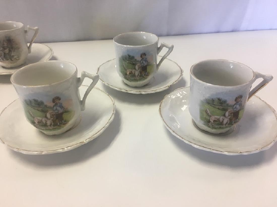 Victorian Child's Tea Set - 9