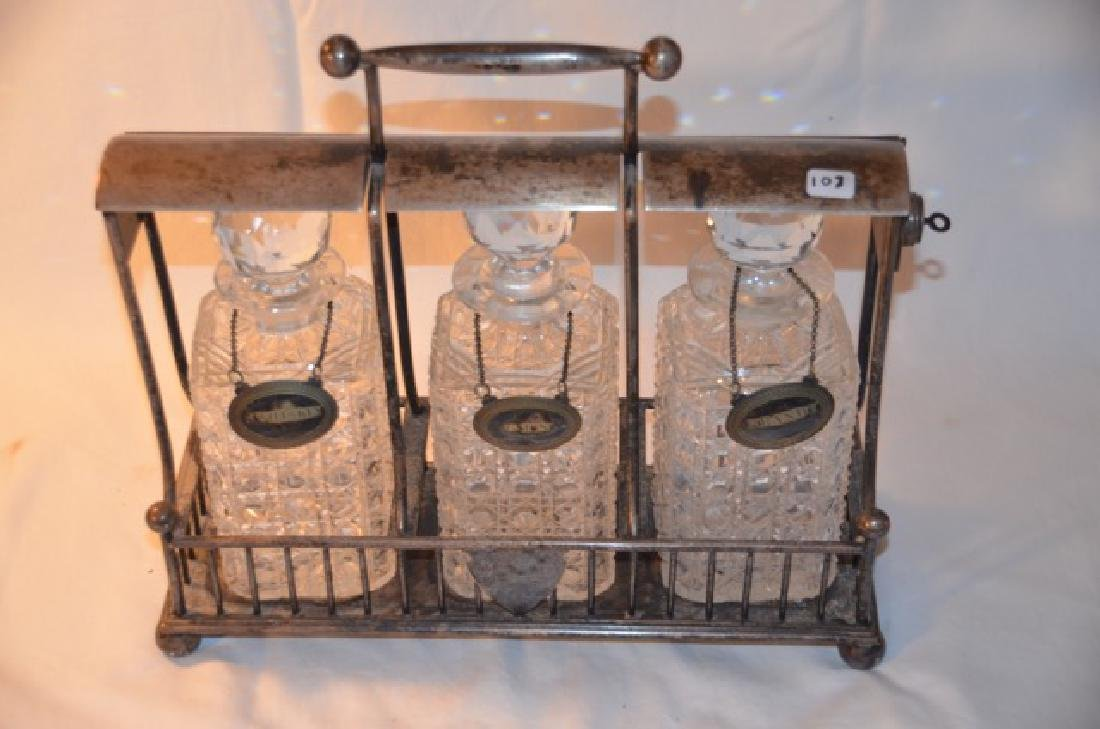 Liquor Decanter Caddy