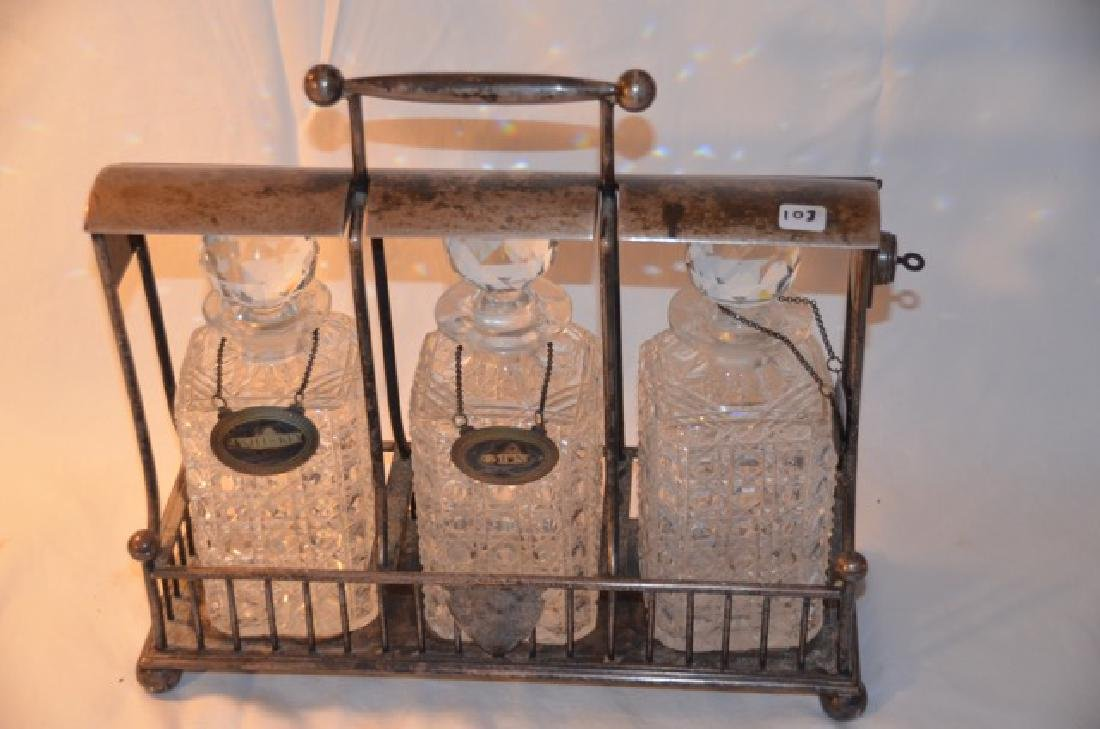 Liquor Decanter Caddy - 2