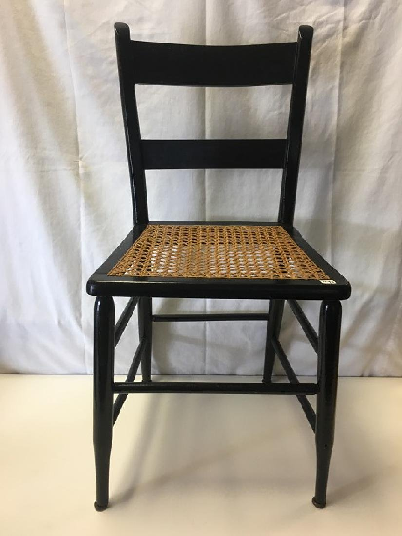 Two Caned Seat Chairs - 3