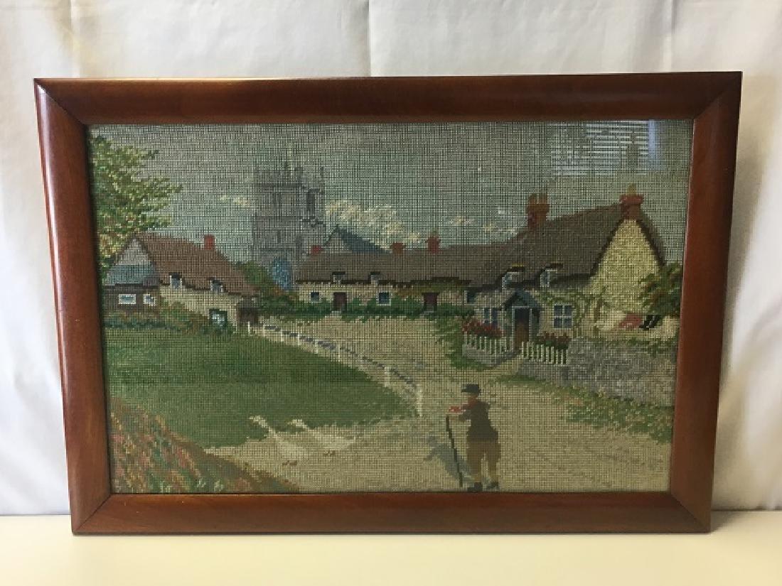 Needlework of Godshell on Isle of Wight