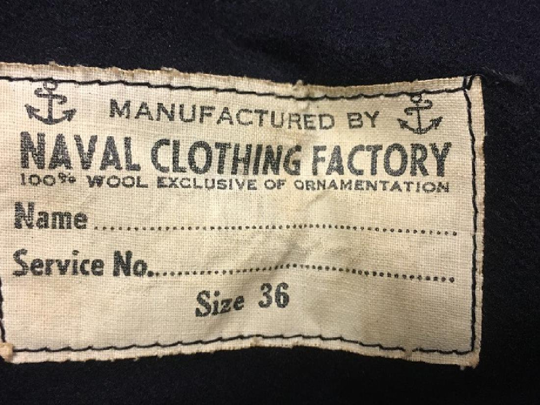 WWII Wool Navy Uniforms - 4