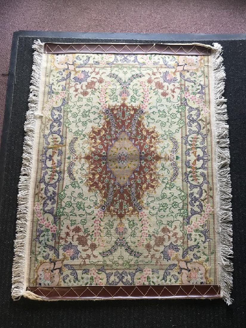 Pair of Silk Prayer Rugs - 3