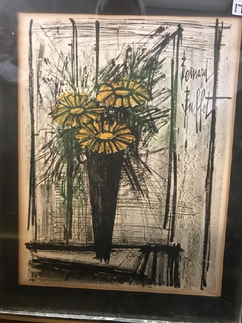 Bernard Buffet Lithograph -- Flower - 2