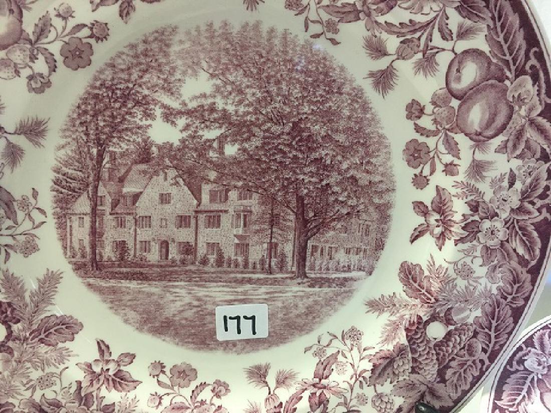 Vassar College Wedgwood Dinner Plates (9) - 2