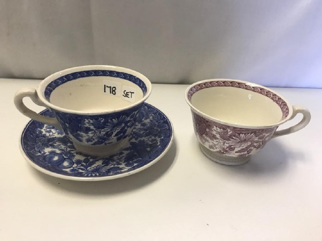 Vassar College Wedgwood Cups & Saucers